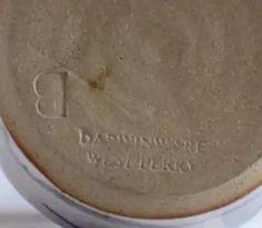 Darwinware West Perry Cambridgeshire - signed B mark