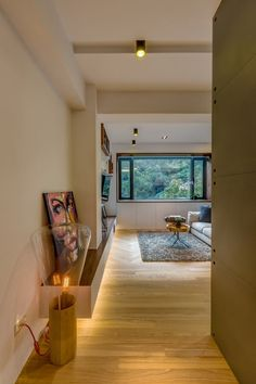 Muffin Table Lamp by Brokis in this Chen-Residence-Taipei-Archlin-Studio-13