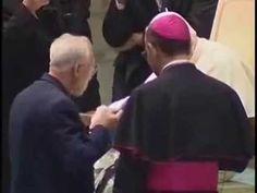Papa João Paulo II e Monsenhor Jonas Abib em encontro histórico