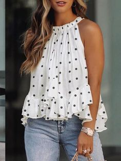 Chic Type, Loose Tank Tops, Cami Tops, Blouse Online, Fashion Colours, Types Of Sleeves, Shirt Blouses, Ruffle Blouse, Shopping