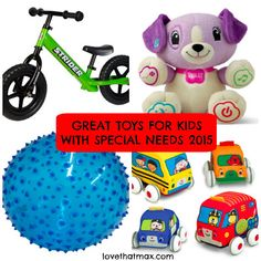 Great Toys For Kids With Special Needs: 2015 Gift Guide