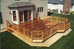 20' x 20' Deck with 10' Extension - Building Plans Only