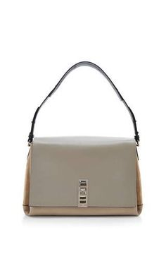 Elliot tri-tone leather shoulder bag by PROENZA SCHOULER