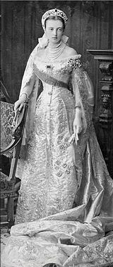 Anastasia Mikhailovna of Russia (1860 - 1922). Daughter of Michael Nikolavich and Cecily of Baden. She married Frederick Frances III, Grand Duke of Mecklenburg-Schwerin and had three children.