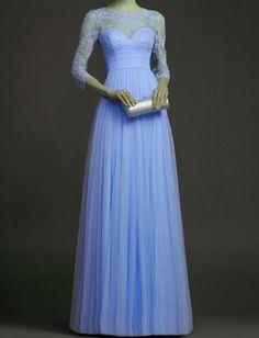 Custom Vintage Long Sleeve Fully Back Lace Wedding by KarenTrends, $348.00
