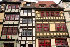 Traditional houses in Erfurt
