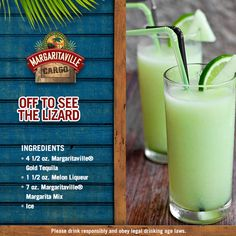 What if we start the weekend a little earlier this week? Yes! We're Off To See The Lizard with this yummy concoction. For full recipe click on the image.