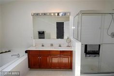 Master Bathroom with Double Vanities.  See more at: SellMyHomeNOVA.com Are you looking to Buy, Sell, or Invest in Real Estate? Contact Us at: Info@AJTeamRealty or 703-562-1820!