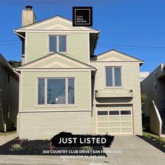 Just Listed! 360 Country Club Drive, SF. Incredible opportunity in prime Lakeshore neighborhood, just a stone's throw from Lake Merced. This 3-story Mid-Century classic home blends traditional style with contemporary comfort. 🛏 4 bedrooms 🛁🚽 2 bathrooms 🚗 2 car parking 📏 + 1900 sq. ft. legal living area 🏠🔑 $1,335,000 Great Schools, Classic House, Front Yard Landscaping, Skylight, Car Parking, The Expanse, Living Area, The Neighbourhood, Real Estate