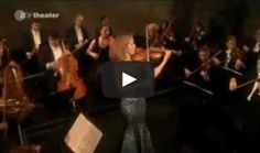 Anne-Sophie Mutter plays the Presto from Mozart 1st Violin Concerto.