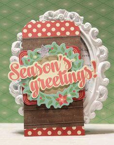 Jillibean Soup Cards on Monday! -- Holly Berry Borscht by Mandy Koeppen