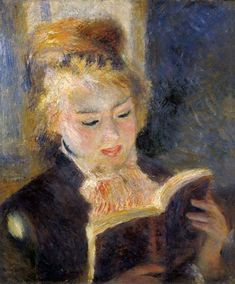 Bild:  Pierre-Auguste Renoir - Girl Reading