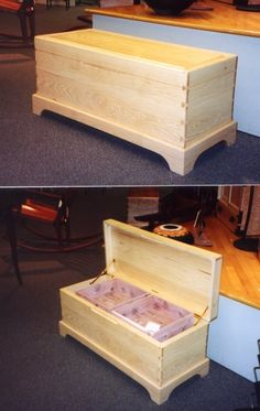 Hickory Blanket Chest Source by Wooden Projects, Woodworking Projects Diy, Woodworking Furniture, Furniture Projects, Furniture Plans, Furniture Making, Wood Furniture, System Furniture, Wooden Crafts