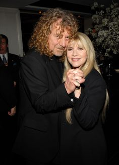 Robert Plant and Stevie Nicks on April 18th, 2007.  Read more: http://www.rollingstone.com/music/pictures/stevie-nicks-life-in-photos-20140526#ixzz39cnCVy4m Follow us: @rollingstone on Twitter   RollingStone on Facebook