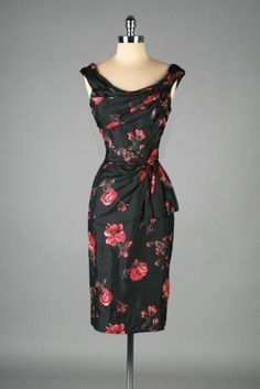 Dress Ceil Chapman, 1950s Mill Street Vintage