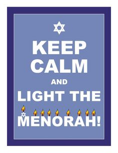 "1055 - Hanukkah-Menorah ... ""May Your Home Be Filled With Peace & Love."""