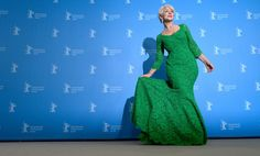 Helen Mirren Makes Us Green With Envy in Dolce & Gabbana HighBG / #Fashion, #FashionBlog, #FashionBlogger, #StreetStyle, #Style #HighBg, ,