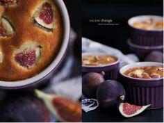 Fig Soufflé Cake Feigen Recipe Figs Photography