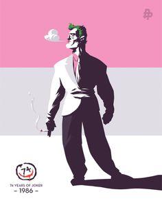 TDKR Joker by Florey