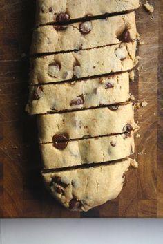 Chocolate Peanut ButterBiscotti - Blue-Eyed Bakers