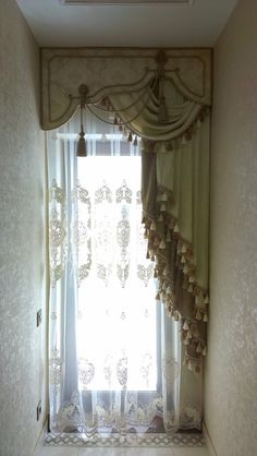 unique, formal window treatments DesignNashville shipping to you. message us for service for this type of treatment