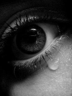 silent tears speak the most