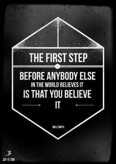 The 1st Step...
