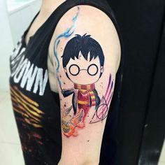 Inspiração: Tatuagem aquarela ♥