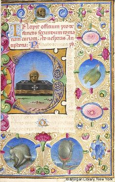 Book of Hours, MS M.227 fol. 101r - Images from Medieval and Renaissance Manuscripts - The Morgan Library & Museum
