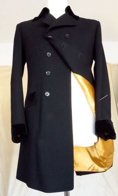 Male by Paul - Carnaby Street Frock coat. Owned by Peter Feely Mod Fashion, 1960s Fashion, Edwardian Fashion, Fashion Ideas, Fashion Outfits, Vintage Clothing, Vintage Outfits, Carnaby Street, Frock Coat