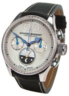 Alexander Shorokhoff Lady Chronograph Uhren Watch Design