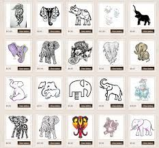 Image result for small elephant tattoo                                                                                                                                                                                 More