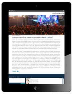 Notícias - Detalhes - Formato Ipad