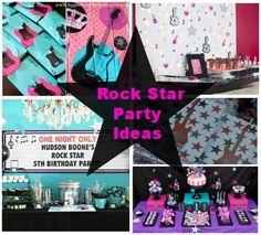 Rock Star Party Ideas #RockStar