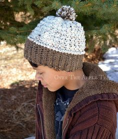 Pom Pom Beanie, Child's Winter Hat