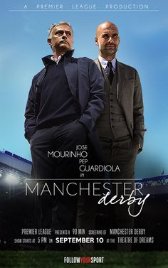 Are you ready for the Manchester Derby ?