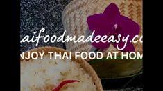 Thai Food Recipes | Thai Food Made Easy | Thai Corn Cake and Scrambled Egg - YouTube