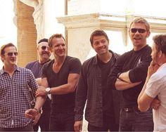 Richard, Jim, Sebastian, Misha, Mark and Rob. God, how I love these guys.