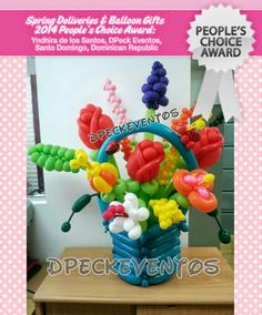 The Spring Contest. and the winners are! Balloon Hat, Balloon Flowers, Balloon Animals, Balloon Bouquet, The Balloon, Animal Balloons, Easter Flowers, Leaf Flowers, Spring Flowers