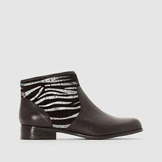 Boots en cuir Alicette Mellow Yellow : prix, avis & notation, livraison.  Dessus/ Tige : Cuir (vachette) et Textile Doublure : Cuir (porc) Semelle extérieure : Synthétique Hauteur de talon : 3 cm Fermeture : A zip