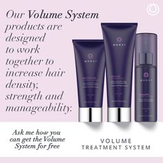 Our Balance System products are designed to work together for Brilliance, Strength and Vitality. They deliver maximum moisture, balance, and shine while boosting natural hydration without weighing hair down. They also prevent hair loss while stimulating growth to leave your hair soft, clean, and manageable.  Have your Balanced your hair? http://hairsogoregous.com/