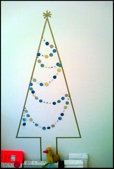 Sapin de Noël minimaliste / Minimalist Christmas tree