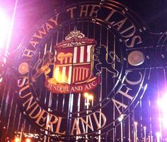 Arriving at the Stadium of Light Event Organization, Neon Signs, Entertaining, Funny