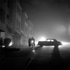 Fred Lyon, Foggy Night, Land's End, 1953