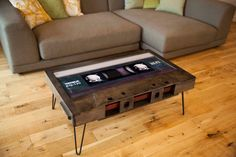 High 45 Cassette Tape Coffee Table by 214Graffiti on Etsy