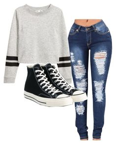 """Untitled #220"" by brodriguez8104 on Polyvore featuring Converse"