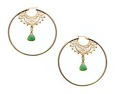 Azza Fahmy Gold Earrings available at Octium