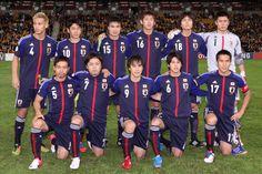Equipo de Japon en el mundial