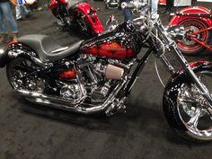 Harley-black hawk down custom paint.