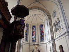 Thomas Aquinas, Church Interior, Iglesias, Interiors, Wood, Decoration Home, Decor, Deco